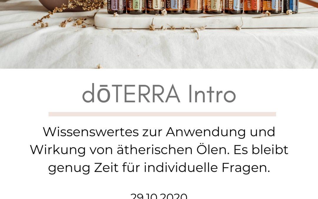 29.10.2020 – doTERRA Intro